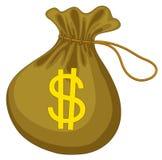 Saco do dinheiro Fotografia de Stock Royalty Free
