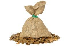 Saco do dinheiro Imagem de Stock Royalty Free