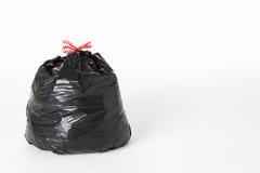 Saco do lixo completamente de desperdício Fotografia de Stock