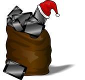 Saco do Natal Fotografia de Stock