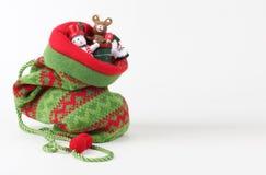 Saco do Natal com presentes fotos de stock royalty free