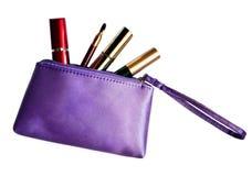 Saco dos cosméticos Imagem de Stock