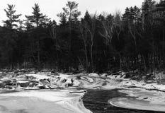 Saco flod Arkivbild