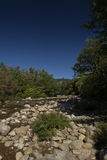 Saco flod New Hampshire Fotografering för Bildbyråer