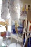 Saco para um gotejamento em um hospital Fotografia de Stock