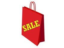 Saco para vendas fotografia de stock