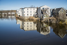 The Saco River Royalty Free Stock Images