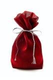 Saco rojo Fotos de archivo libres de regalías