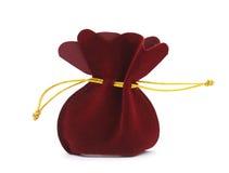 Saco rojo Imagen de archivo libre de regalías