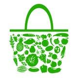 Saco verde Imagem de Stock