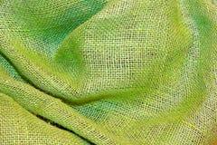 Saco verde Fotos de archivo