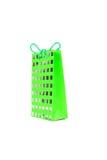 Saco verde do presente Foto de Stock Royalty Free