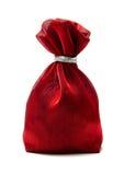 Saco vermelho imagem de stock