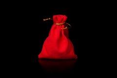 Saco vermelho Foto de Stock Royalty Free