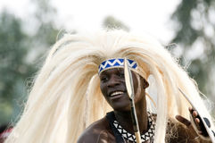 Sacola tribe dancer Stock Photography