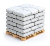 Sacos blancos Fotografía de archivo libre de regalías