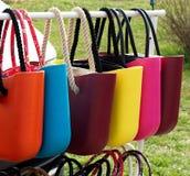 Sacos coloridos das senhoras Foto de Stock Royalty Free