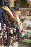 Sacos coloridos de matéria têxtil com cópia do elefante Foto de Stock Royalty Free