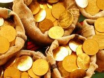 Sacos com dinheiro Fotografia de Stock Royalty Free