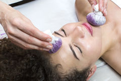 Sacos da uva da massagem Imagem de Stock Royalty Free
