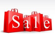 Sacos da venda Imagem de Stock Royalty Free