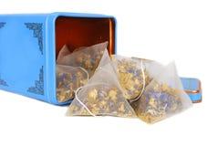 Sacos de chá imagens de stock