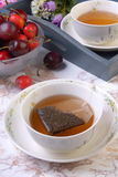 Sacos de chá foto de stock royalty free