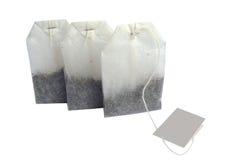 Sacos de chá Foto de Stock