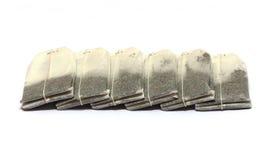 Sacos de chá isolados Fotografia de Stock