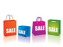 Sacos de compra Foto de Stock Royalty Free