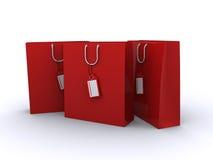 Sacos de compra Fotografia de Stock Royalty Free