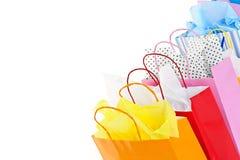 Sacos de compra Imagens de Stock