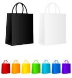 Sacos de compra Imagem de Stock