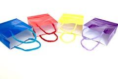 Sacos de compra coloridos Foto de Stock Royalty Free