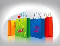 Sacos de compras Fotos de Stock