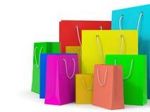 Sacos de compras Imagem de Stock