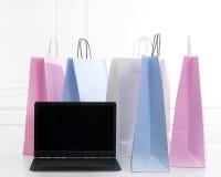 Sacos de compras Fotografia de Stock