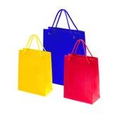 Sacos de compras bonitos Imagem de Stock
