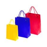Sacos de compras bonitos Fotografia de Stock Royalty Free