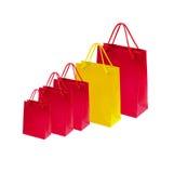 Sacos de compras bonitos Fotografia de Stock