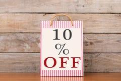 Sacos de compras com inscrição Imagem de Stock Royalty Free