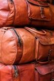 Sacos de couro imagem de stock