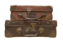 Sacos de couro velhos Imagens de Stock Royalty Free