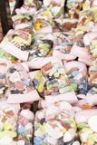 Sacos de feijões de geleia para aniversários Fotos de Stock