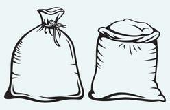 Sacos de grano Imagen de archivo