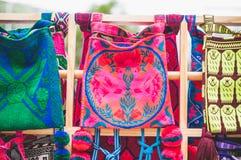 Sacos de Huichol Imagem de Stock Royalty Free