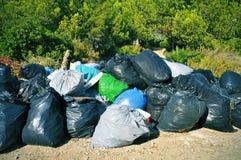 Sacos de lixo Imagens de Stock Royalty Free