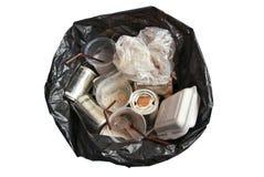 Sacos de lixo Fotografia de Stock