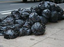 Sacos de lixo Foto de Stock