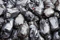 Sacos de lixo Fotos de Stock